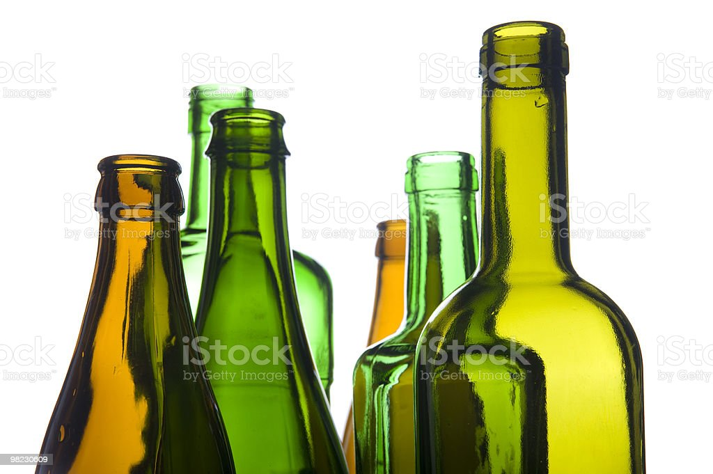 empty bottle closeup royalty-free stock photo