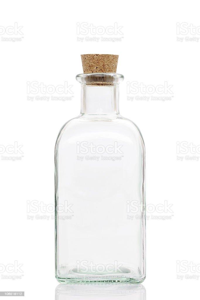 Empty bottle royalty-free stock photo
