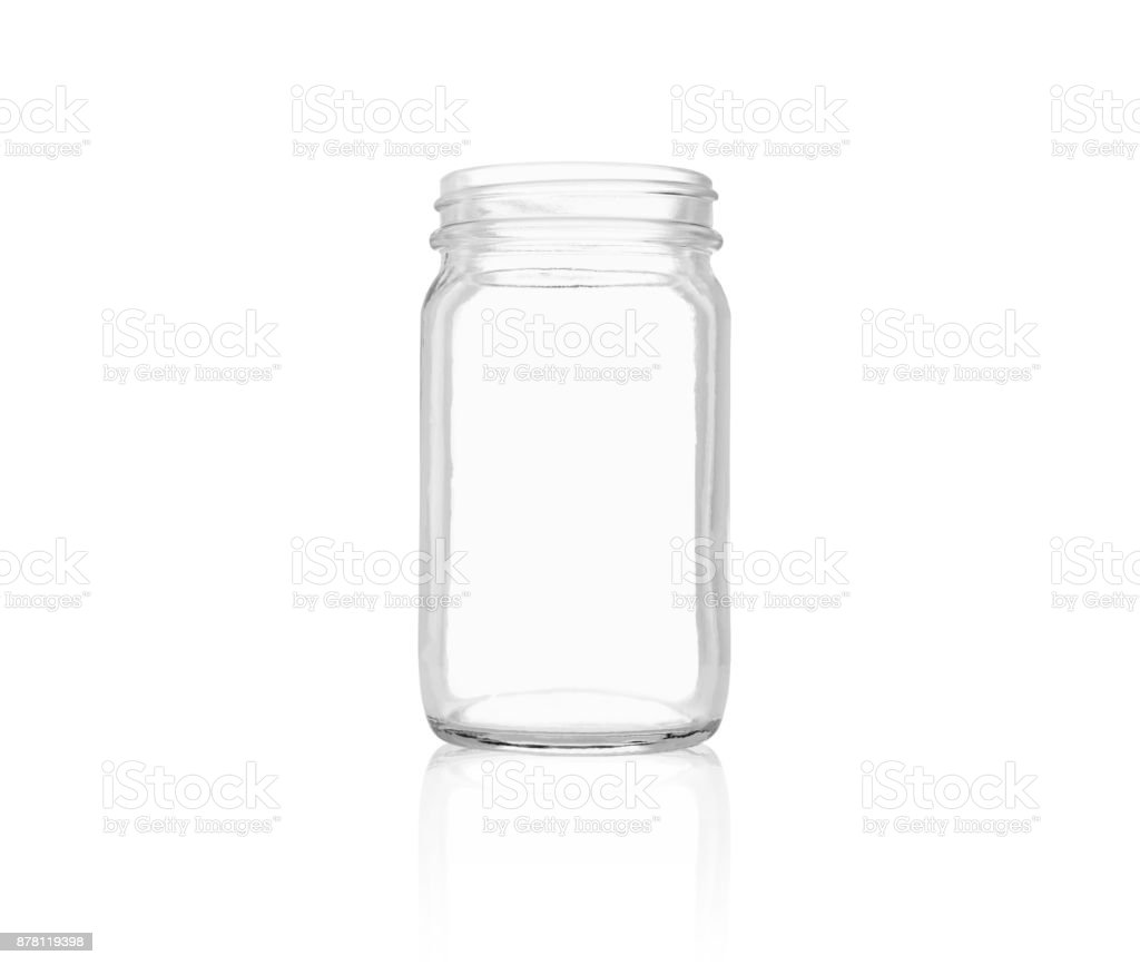 empty bottle template open on white background used to bring the