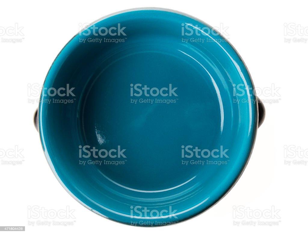 empty bowl isolated stock photo