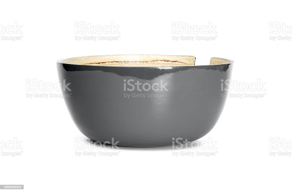 Leere bowl  Lizenzfreies stock-foto