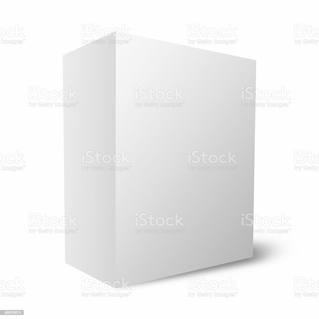 Empty box / packaging royalty-free stock photo