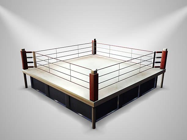 ring de boxeo vacío - foto de stock