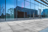 Building Exterior, Office Building Exterior, Glass - Material, Construction Industry, Entrance