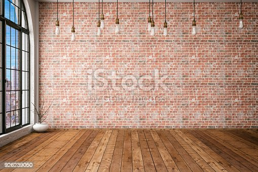 istock Empty Brick Wall 926239050