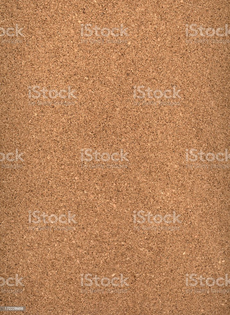 Empty brown cork board background royalty-free stock photo