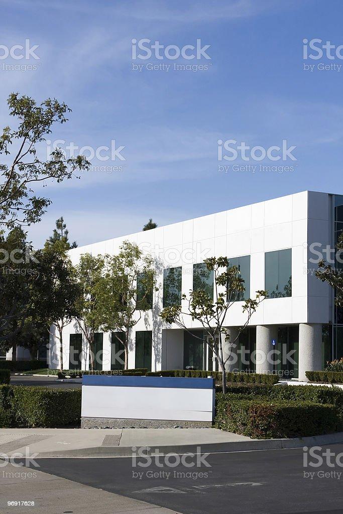 Empty Building royalty-free stock photo