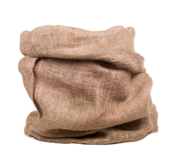 empty burlap bag or sack Empty burlap or jute bag. This sack is also use for sinterklaas event. sinterklaas stock pictures, royalty-free photos & images