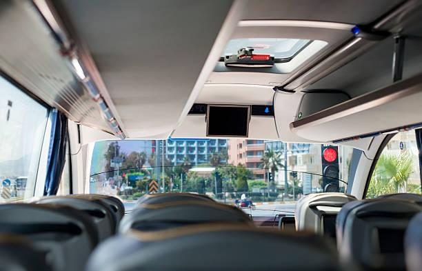 Leere bus innen – Foto