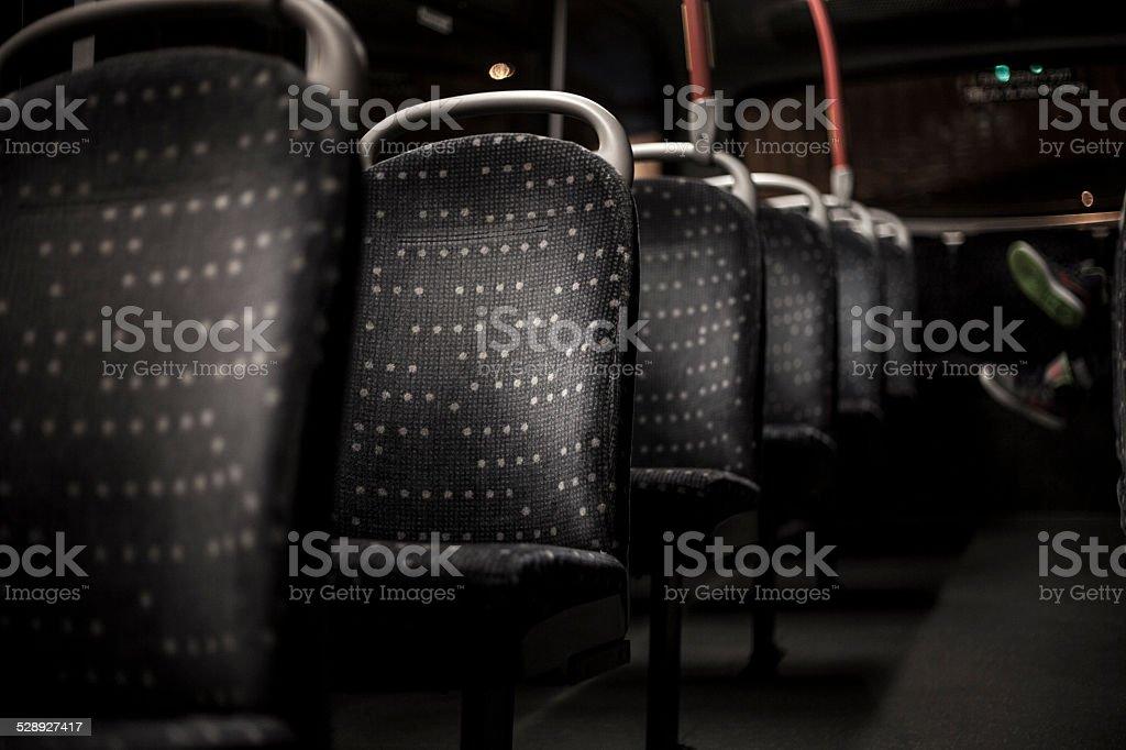 Autobús de vacío - foto de stock