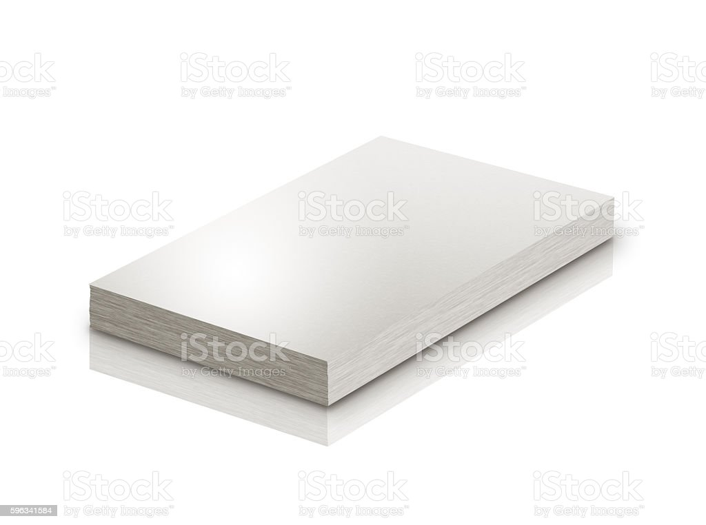 Empty business card template royalty-free stock photo