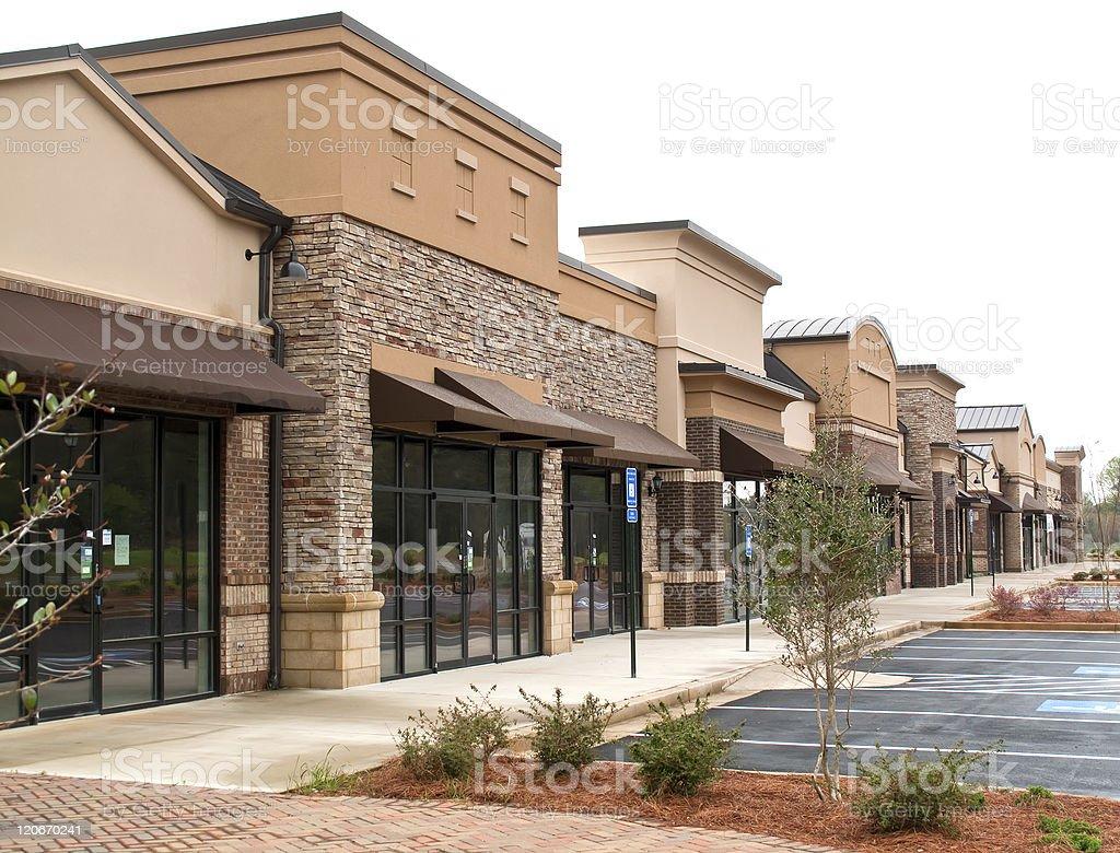 Empty Businesses stock photo