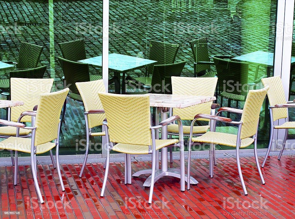Vuota cafe foto stock royalty-free