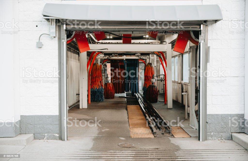 estación de vacío lavado de coches - foto de stock