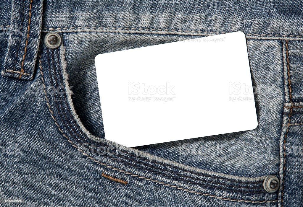 Empty card stock photo