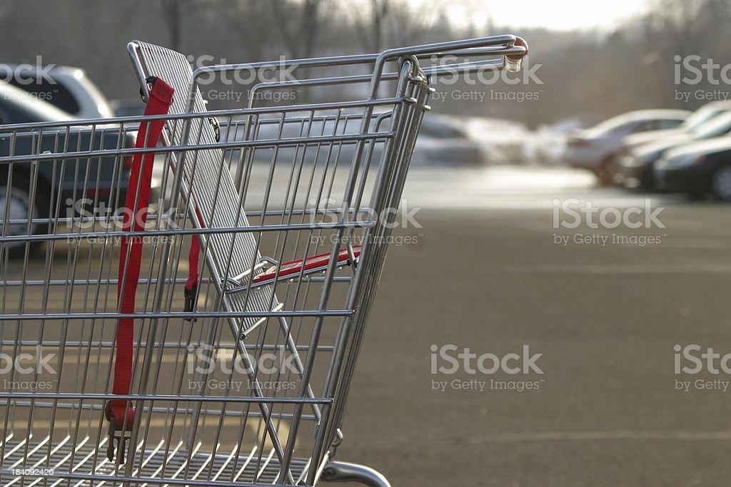 empty cart 1 stock photo