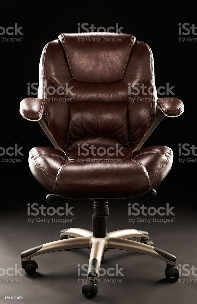 Empty Chair in Room royalty-free stock photo
