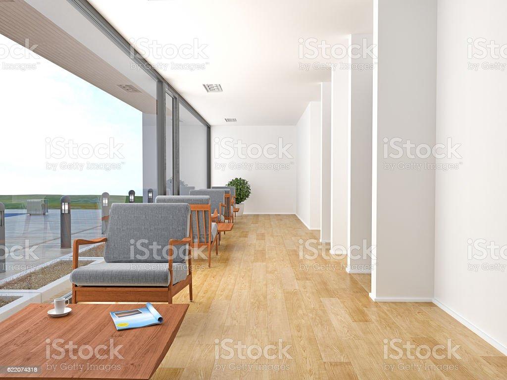 Chaises Salle D Attente Cabinet Medical photo libre de droit de chaises vides dans la salle dattente