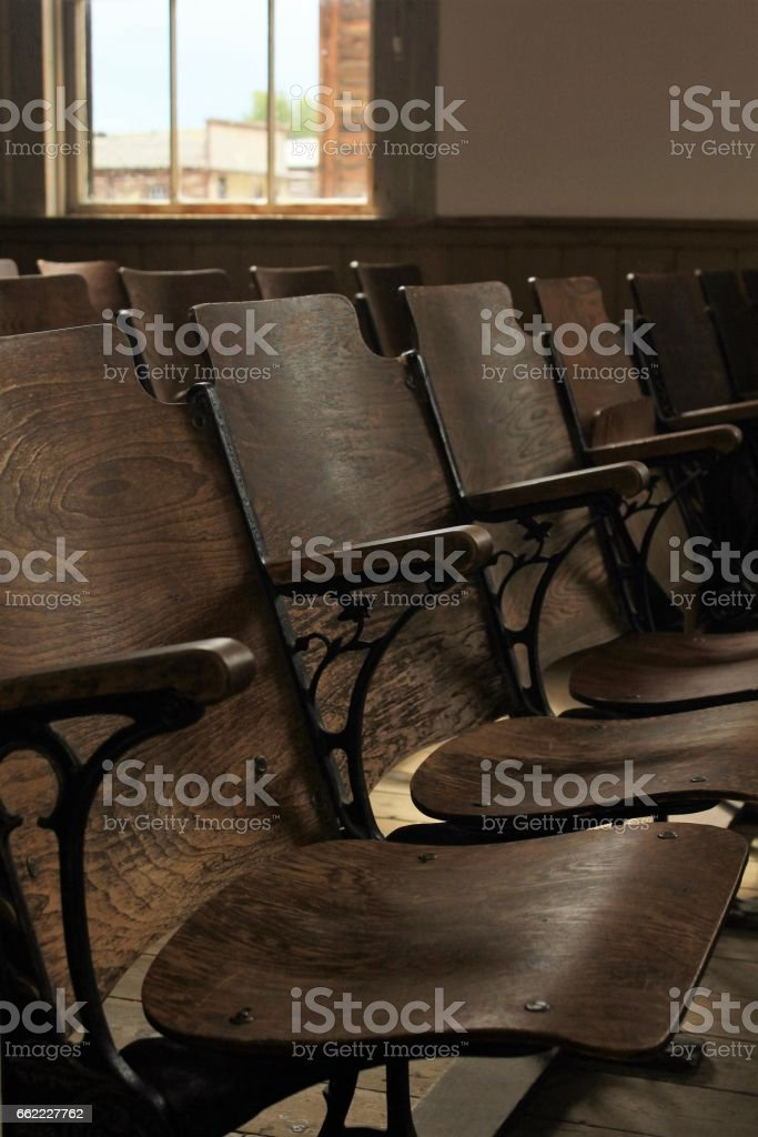 Empty Chairs royalty-free stock photo