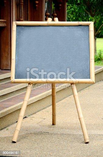 839409724 istock photo Empty Chalkboard. 500494161