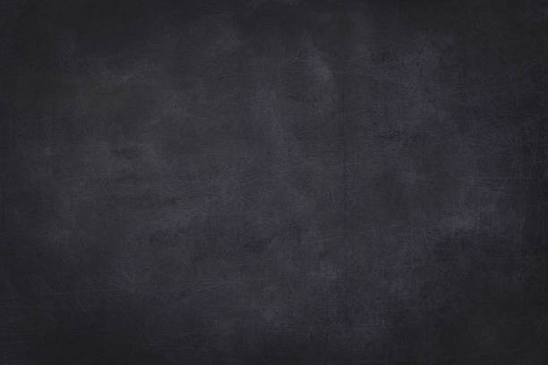 empty chalkboard with wooden frame - background - black background stock pictures, royalty-free photos & images
