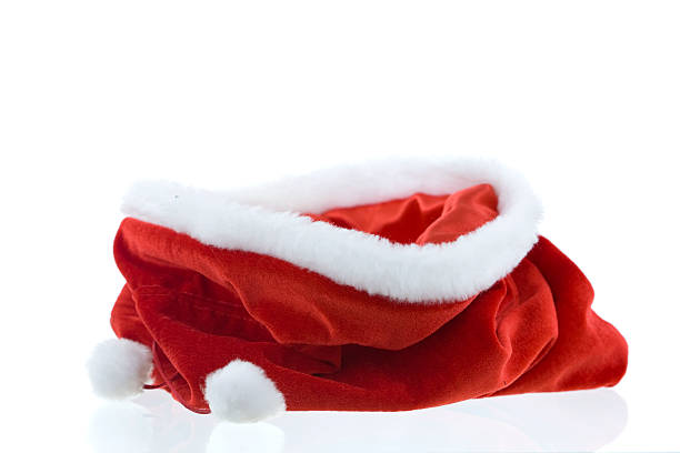 empty christmas bag - sack stock pictures, royalty-free photos & images
