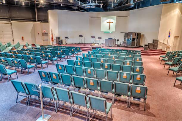 Leere Kirche Heiligtum – Foto
