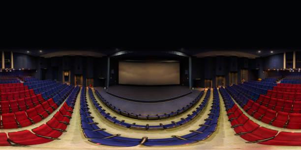 Leeres Kino 360 °-Blick – Foto