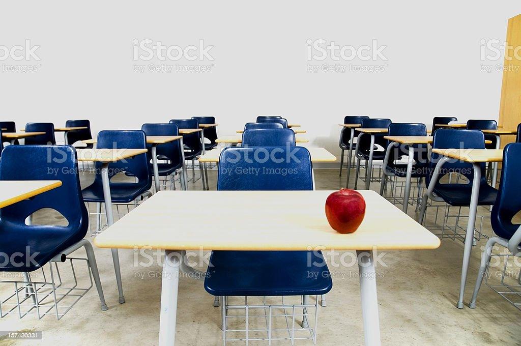 Empty Classroom, Back to School royalty-free stock photo