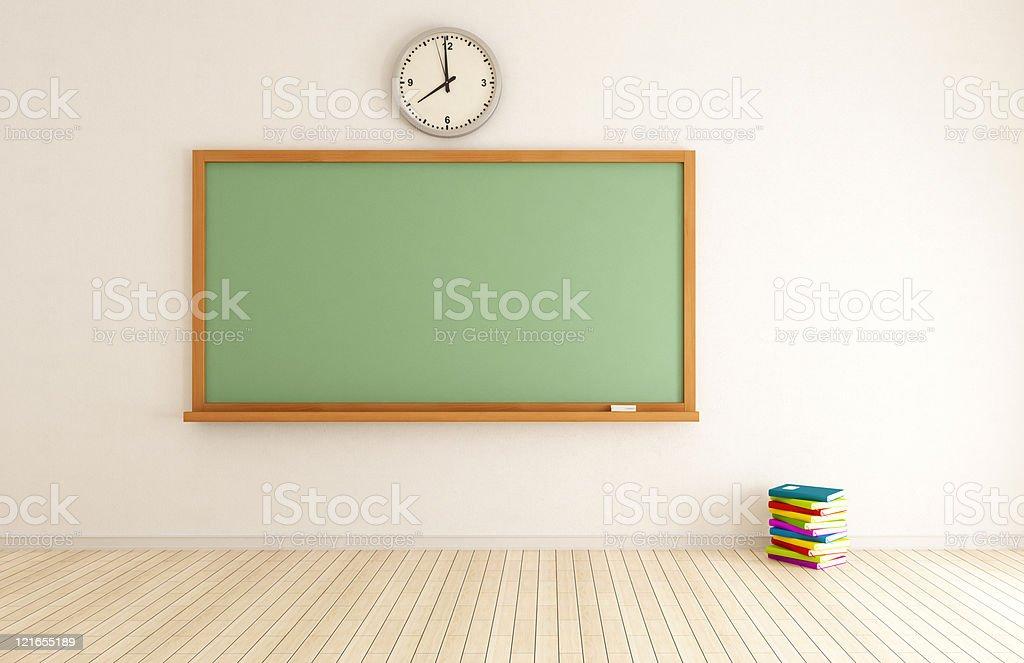 In classe vuota - foto stock
