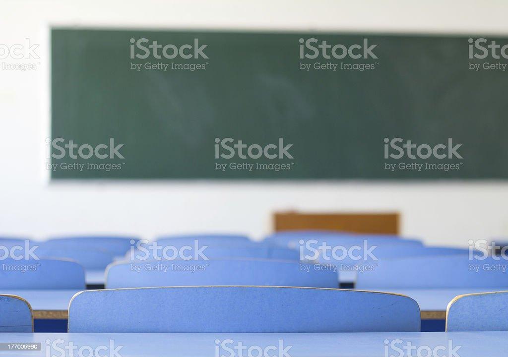 Vacío con montaje tipo aula - foto de stock