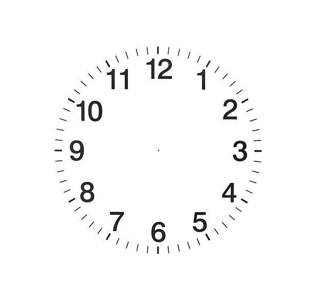 Leere Uhr – Foto
