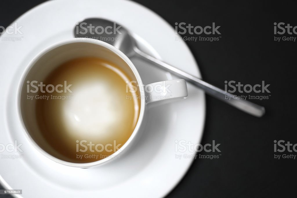 empty coffe cup royalty-free stock photo
