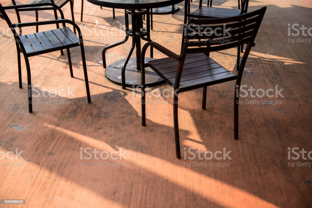Empty Coffee Shop With Tables And Chairs Stock Photo Download Image Now Istock