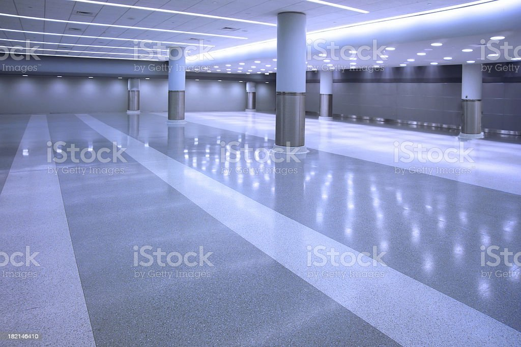 empty concourse royalty-free stock photo