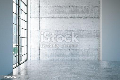 840777964istockphoto Empty Concrete Wall 1146552052