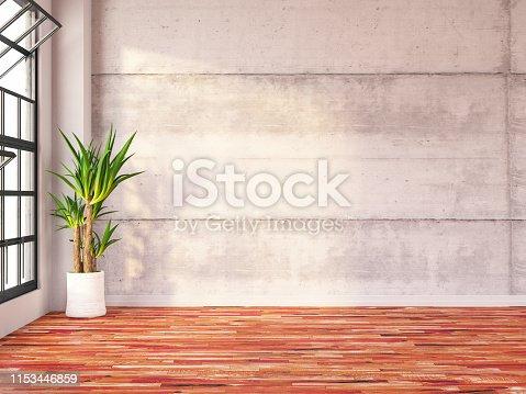 840777964istockphoto Empty Concrete Wall 1153446859