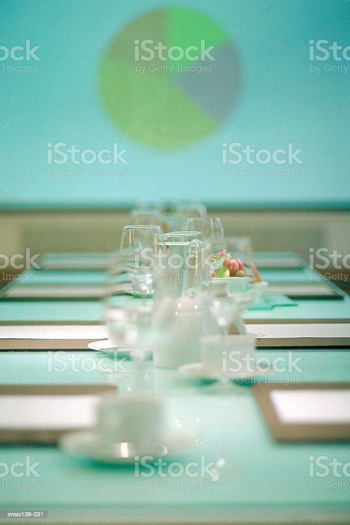 Empty conference room royalty free stockfoto
