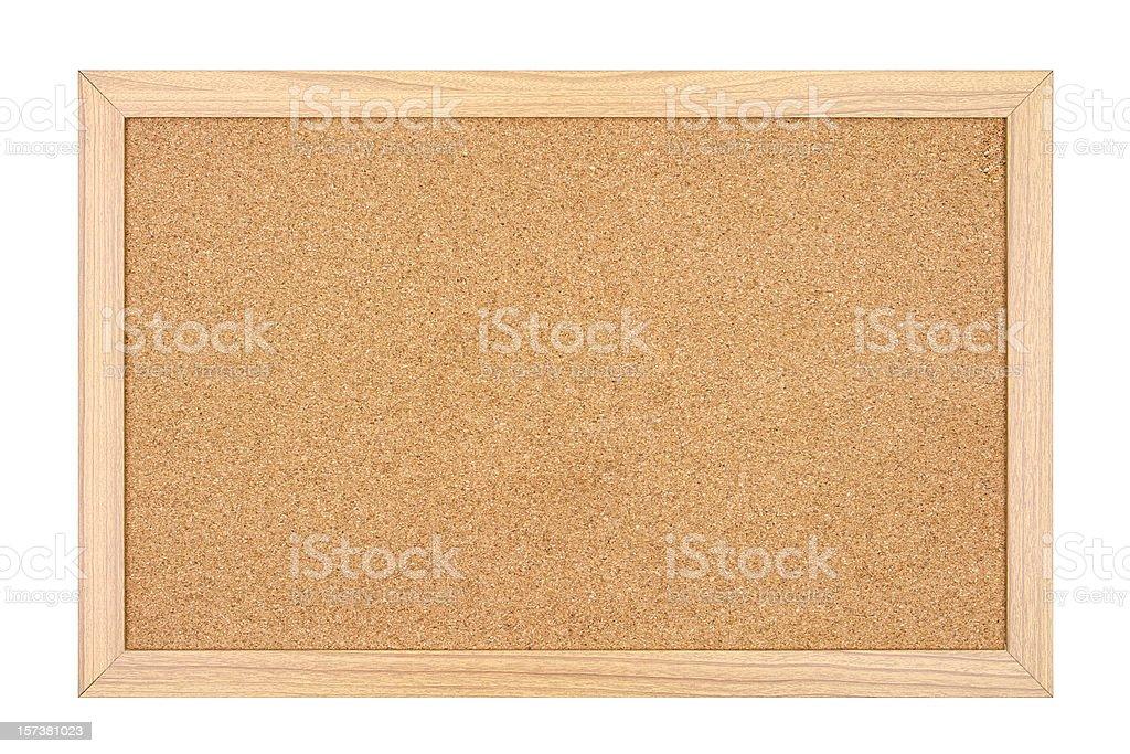 Empty Cork Board royalty-free stock photo
