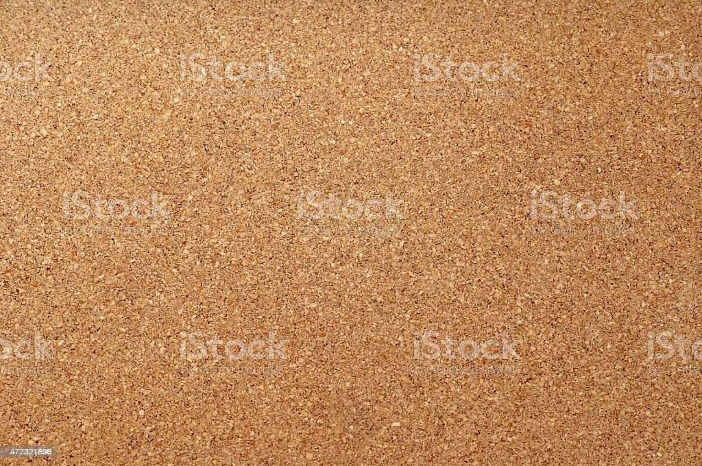 Empty cork notice board texture and background stock photo