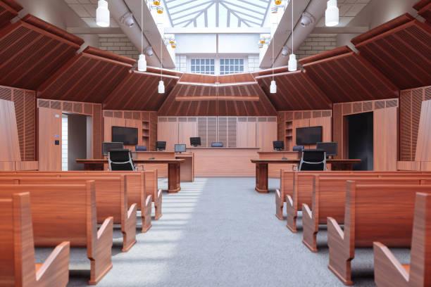 Leerer Gerichtssaal – Foto