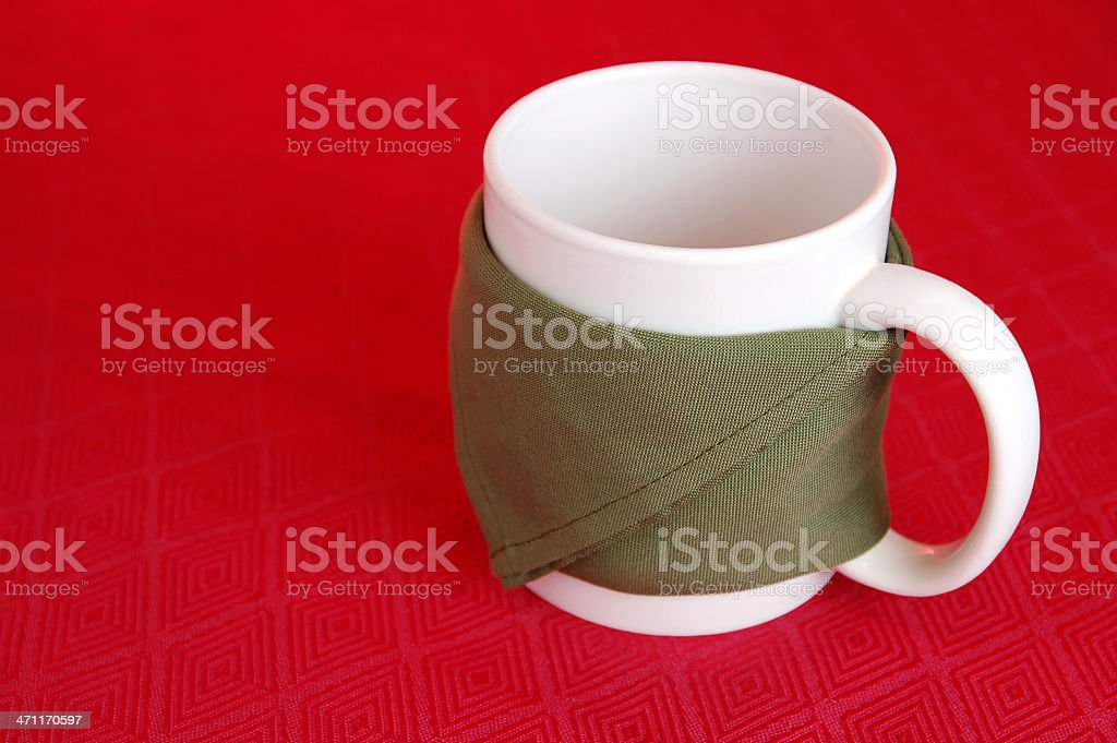 Empty Cup stock photo