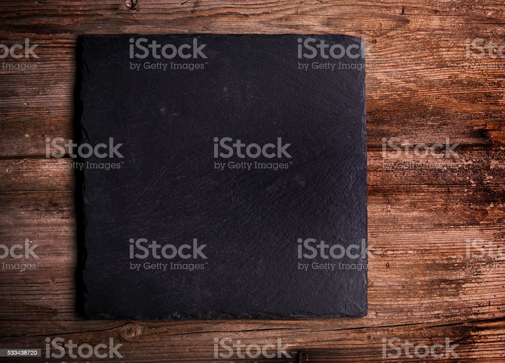 Empty cutting Board Background stock photo