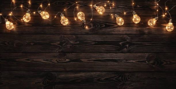 vide, en bois fond noir - lumière noël photos et images de collection