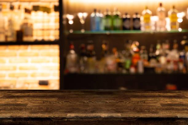 Empty dark wooden bar counter with blur background bottles of picture id953972952?b=1&k=6&m=953972952&s=612x612&w=0&h=sxz6cpmyhopfwusbac2chpcjxjxus n7zaxgjul14ss=