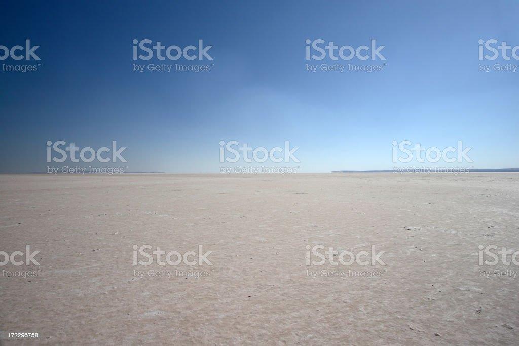 Empty Desert stock photo