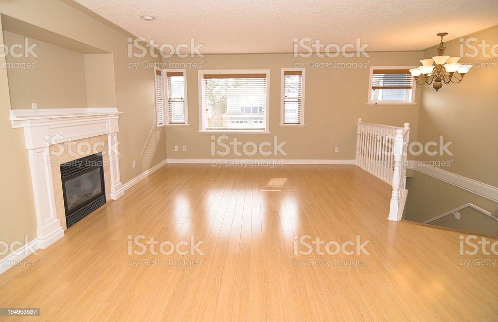 Empty Designer Apartment Interior - Moving House royalty-free stock photo