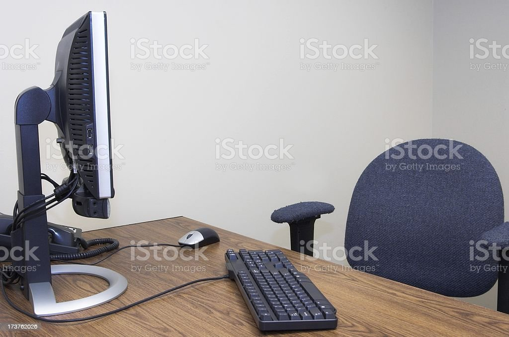 Empty Desk royalty-free stock photo