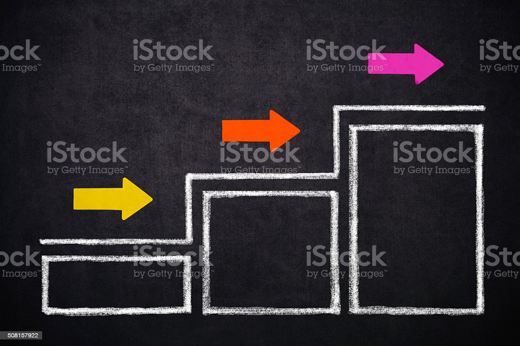 Empty Diagram stock photo