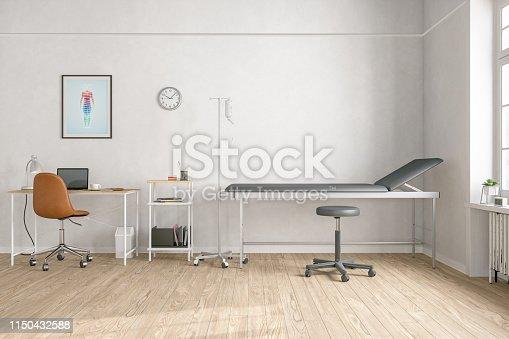 894029864istockphoto Empty Doctor's Office 1150432588